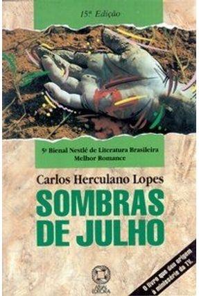 Sombras de Julho - Lopes,Carlos Herculano pdf epub