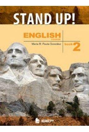 Stand Up - English Book 2 - 7º Ano - Gonzáles,Maria R. De Paula   Hoshan.org