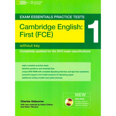 Cambridge First Practice - Tests 1 Without Key + DVD-Rom