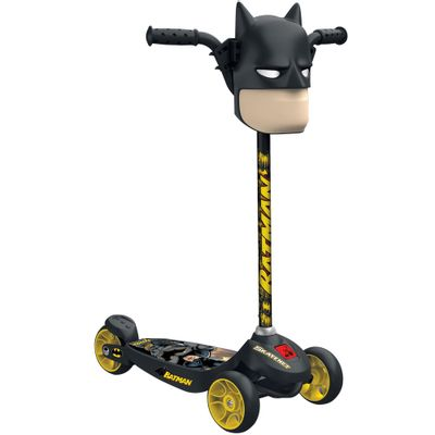 Patinete Skatenet - DC Comics - Batman - Kid - Bandeirante