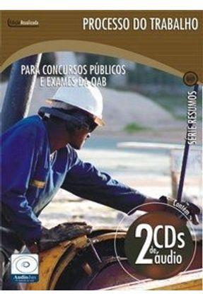 Processo do Trabalho - Áudiolivro - 2 CDs - Lopes,Patrícia pdf epub