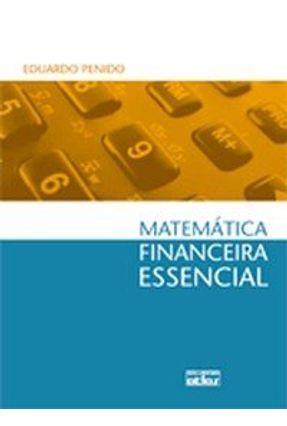 Matemática Financeira Essencial - Penido,Eduardo pdf epub