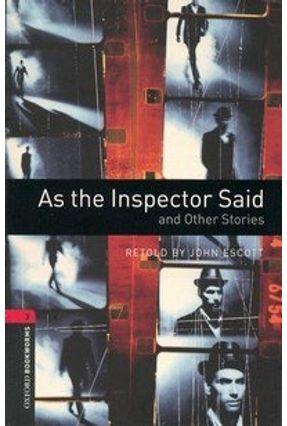 As The Inspector Said (Obw Lib 3) 3Ed - Escott,Jonh   Hoshan.org
