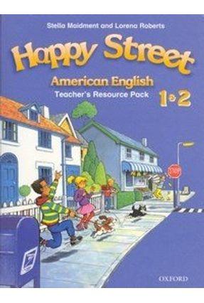 Happy Street 1 & 2 American English Teacher's Book - Roberts,Lorena   Tagrny.org