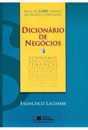 Dicionário de Negócios - Lacombe,Francisco | Hoshan.org