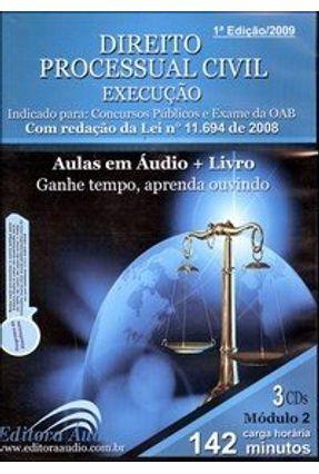 Direito Processual Civil - Execução - Audiolivro - Áudio,Editora | Hoshan.org