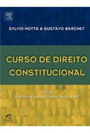 Curso de Direito Constitucional - 2ª Ed. - Barchet,Gustavo Motta,Sylvio | Hoshan.org