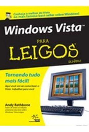 Windows Vista para Leigos - Rathbone,Andy   Tagrny.org