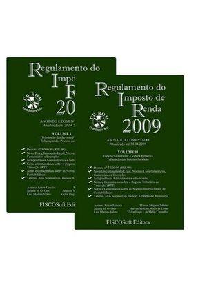 Regulamento do Imposto De Renda 2009 - 2 Vols - Vários Autores | Hoshan.org