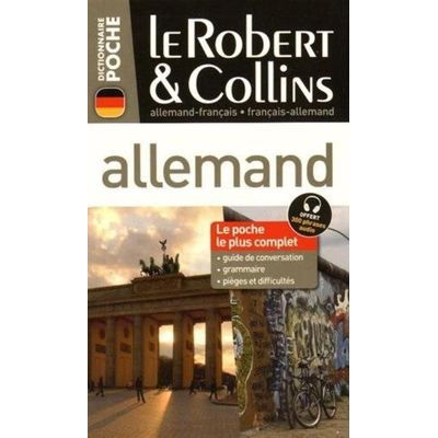 Le Robert & Collins Poche Allemand - 2016