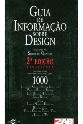 Guia de Informação Sobre Design - 2ª Ed. - Oliveira,Sylvio de   Hoshan.org