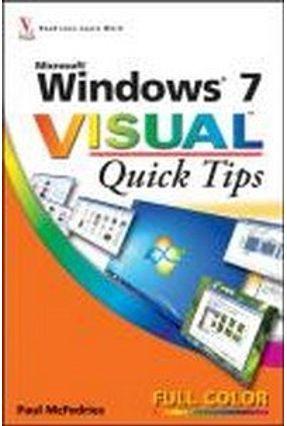 Windows 7 - Quick Tips - Mcfedries,Paul | Hoshan.org