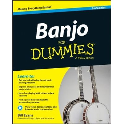Banjo For Dummies - Book + Online Video and Audio Instruction