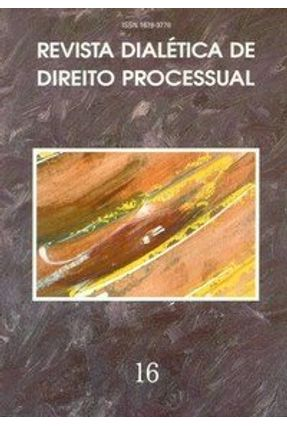 Revista Dialética de Direito Processual 16 - Armond,Helena | Tagrny.org