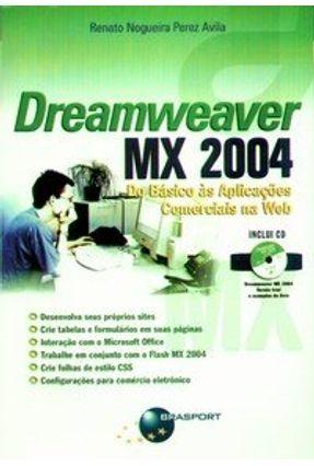 Dreamweaver Mx 2004 - Avila,Renato Nogueira Perez pdf epub