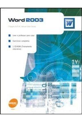 Word 2003 - Acompanha CD-ROM ( Treinamento Interativo ) - Issa,Najet M. K. Iskandar   Hoshan.org