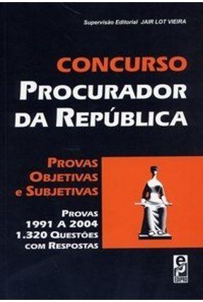 Concurso Procurador da República - Vieira,Jair Lot pdf epub
