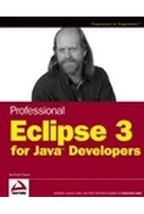 Professional Eclipse 3 For Java Developers - Daum,Berthold   Hoshan.org