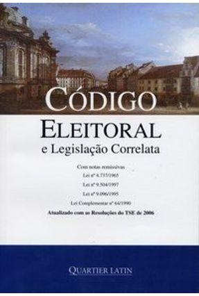 Código Eleitoral e Legislação Correlatada - Vieira,Vinícius pdf epub