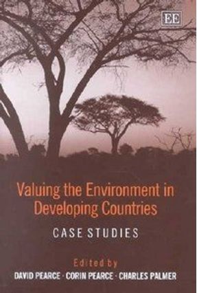 Valuing the Environment in Developing Countries - Palmer,Charles Pearce,Corin Pearce,David   Hoshan.org