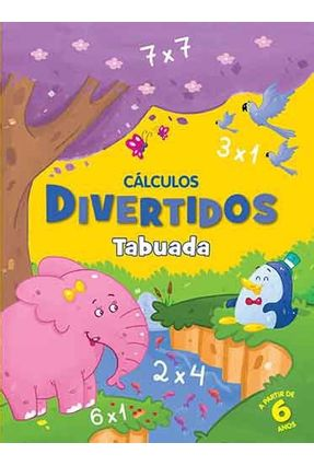 Tabuada - Col. Cálculos Divertidos - Editora Ciranda Cultural   Nisrs.org