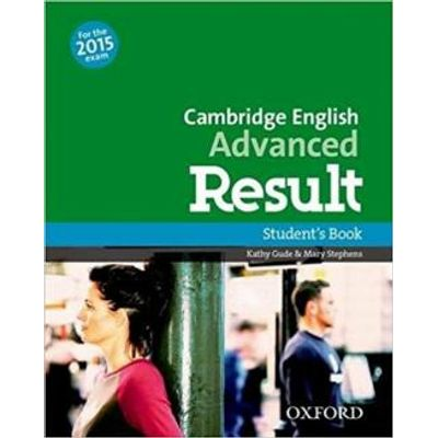 Cae Advanced Result - Student's Book