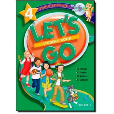 Let's Go Student Book 4 - With CD-ROM - Third Edition