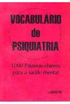 Vocabulario de Psiquiatria - Andrei,Edmondo | Hoshan.org