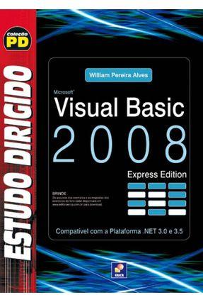 Estudo Dirigido de Visual Basic 2008 Express Edition - Alves,William Pereira | Tagrny.org