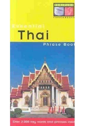 Essential Thai Phrase Book - Jai-Ua,Benjawan Golding,Michael | Hoshan.org