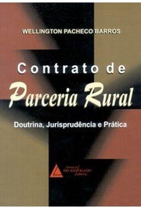 Contrato de Parceria Rural Doutrina Juri Prat - Barros,Wellington Pacheco | Hoshan.org
