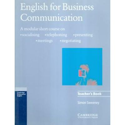 English For Business Communication - Teachers Book