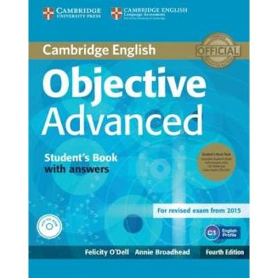 Objective Advanced Sb With Answers + Cd-Rom And Audio Cd - 4Th Ed