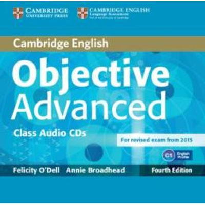 Objective Advanced - Class Audio CDs - 4th Ed.