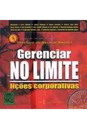 Gerenciar no Limite  - Licoes Corporativas - Savioli,Nelson | Nisrs.org