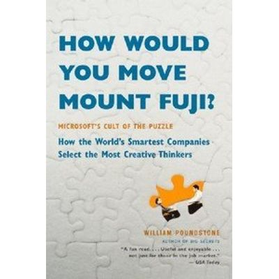 How Would You Move Mount Fuji?