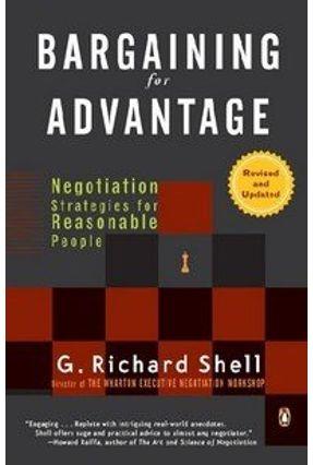 Bargaining for Advantage - Shell,G. Richard   Hoshan.org