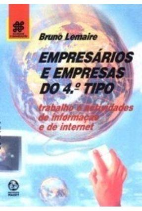 Empresários e Empresas do 4º Tipo - Bruno Lemaire pdf epub