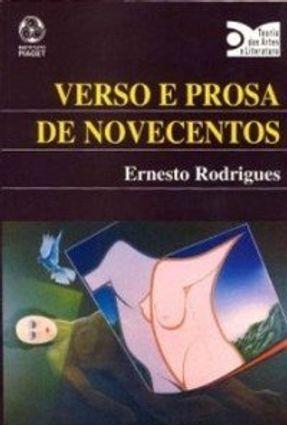 Verso e Prosa de Novecentos - Ernesto Rodrigues pdf epub
