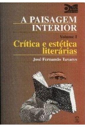 Paisagem Interior I, a - Tavares,José Fernando pdf epub