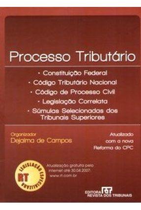 Processo Tributário - Campos,Dejalma de | Nisrs.org