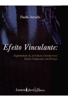 Efeito Vinculante - Ilegitimidade da Jurisdição Constitucional - Estudo Comparado com Portugal - Arruda,Paula   Tagrny.org