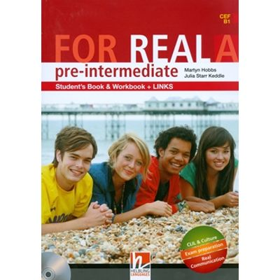 For Real Pre-Intermediate  A Sb/Wb/Links + Cd/Cdrom