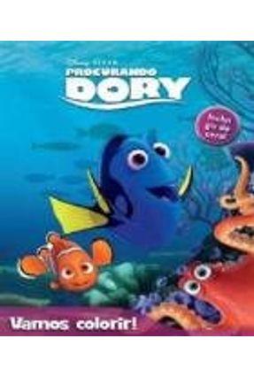 Disney Procurando Dory Vamos Colorir Saraiva