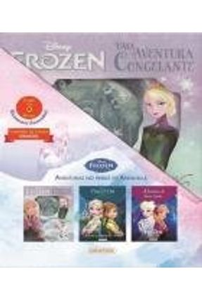 Kit Cantinho da Leitura - Aventuras Em Arendelle - Frozen - Disney | Hoshan.org