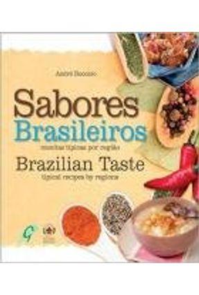 Sabores Brasileiros - Receitas Típicas Por Região - Edição Bilíngue