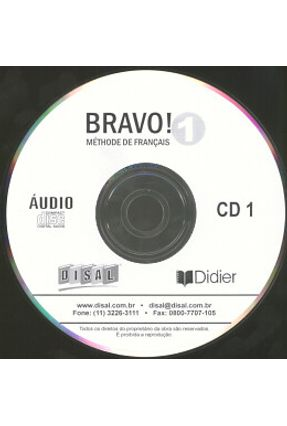 Bravo! Cd Classe 1 (2) Nacional
