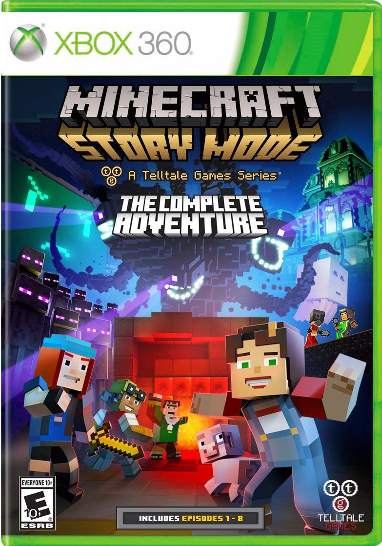Xbox 11 - Minecraft: Story Mode - The Complete Adventure - Saraiva