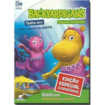 Dvd Backyardigans - Tasha Meu Mundo no Quintal