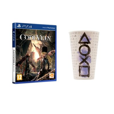 Code Vein PS4 + Copo Playstation Oficial simbols
